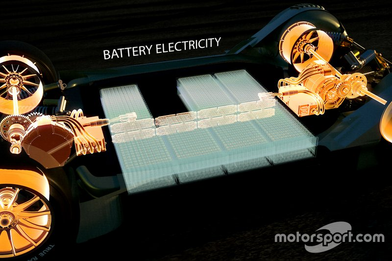 Les batteries seront placées en lieu sûr dans la monocoque en carbone