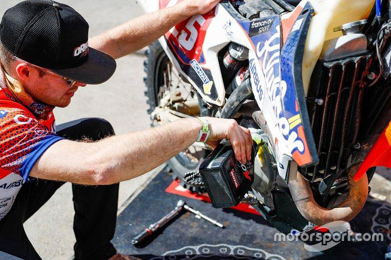 #125 KTM: Frederic Barlerin