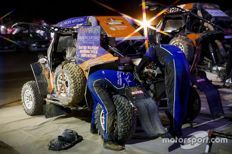 #418 Xtremeplus Polaris Factory Team: Graham Knight, David Watson