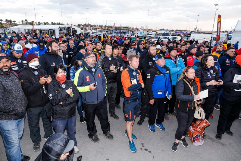 Briefing during the Rest Day