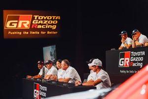 Toyota Gazoo Racing, Dakar press conference lineup