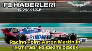 31 Ocak F1 haberleri