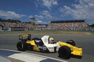 Pierluigi Martini, Minardi M190 Ford, al GP d'Australia del 1990