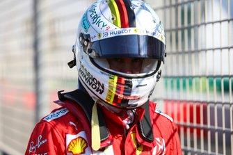 Sebastian Vettel, Ferrari, kaza sonrası