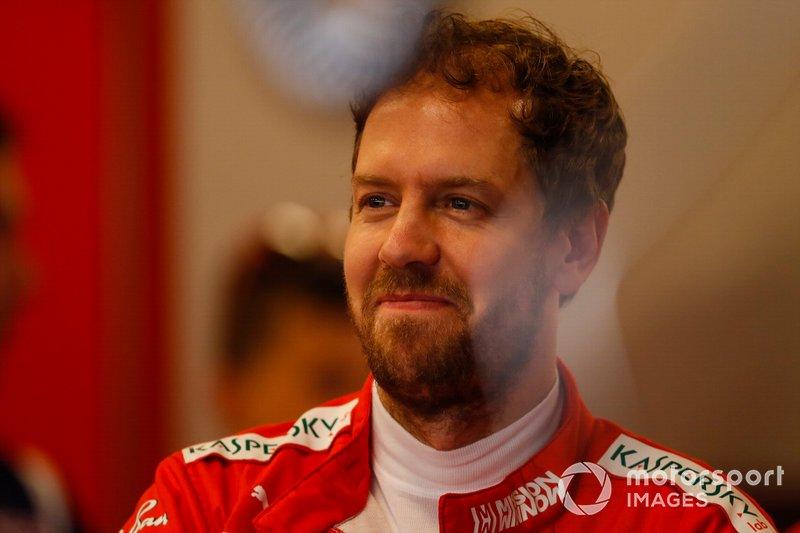#24 Sebastian Vettel, F1