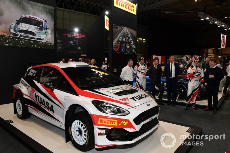 Pirelli Rally tyre launch