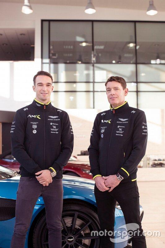 Harry Tincknell e Richard Westbrook, Aston Martin Racing
