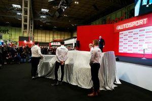 Esapekka Lappi, Teemu Suninen and Gus Greensmith unveil their 2020 M-Sport Ford Fiesta WRC