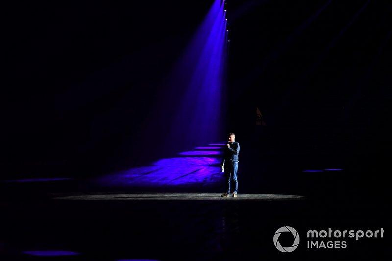 David Croft intrattiene i fan nella Live Action Arena