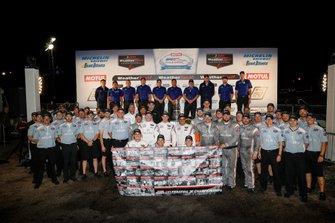 #6 Acura Team Penske Acura DPi, DPi: Juan Pablo Montoya, Dane Cameron, Simon Pagenaud, #7 Acura Team Penske Acura DPi, DPi: Helio Castroneves, Ricky Taylor, Graham Rahal equipo Acura