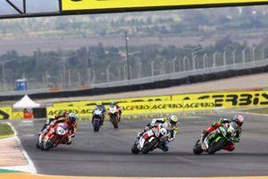 Leon Haslam, Kawasaki Racing Team, Leandro Mercado, Orelac Racing Team, Leon Camier, Honda WSBK Team