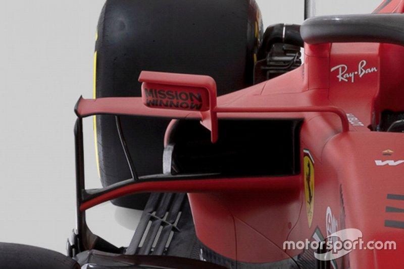 Ferrari SF1000 dettaglio laterale