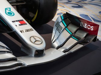 Mercedes AMG F1 livery detail