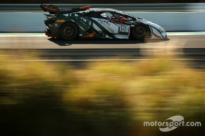 #108 Huracan Super Trofeo Evo, GMG Racing: Mel Johnson, Thomas Lovelady