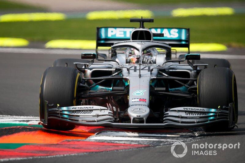 1 - Lewis Hamilton, Mercedes AMG F1 W10