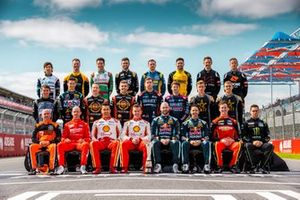 Gruppenfoto: Alle Fahrer für die Supercars-Saison 2020