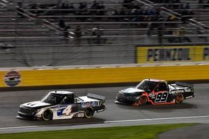 Raphael Lessard, Kyle Busch Motorsports, Toyota Tundra Mobil 1, Ben Rhodes, ThorSport Racing, Ford F-150