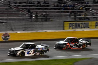 Raphael Lessard, Kyle Busch Motorsports, Toyota Tundra Mobil 1, Ben Rhodes, ThorSport Racing, Ford F-150