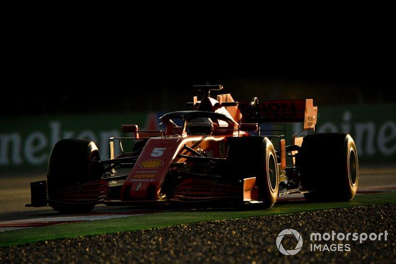 Sebastien Vettel, Ferrari SF1000