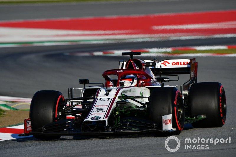 3º Kimi Raikkonen, Alfa Romeo Racing C39: 1:17.091 (con neumáticos C5)