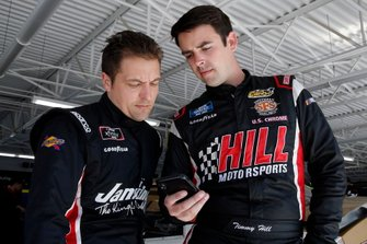 Stephen Leicht, Motorsports Business Management, Toyota Camry and Timmy Hill, Hattori Racing Enterprises, Toyota Camry