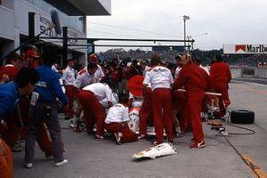 Ayrton Senna, McLaren, Alain Prost, McLaren, Ron Dennis, McLaren
