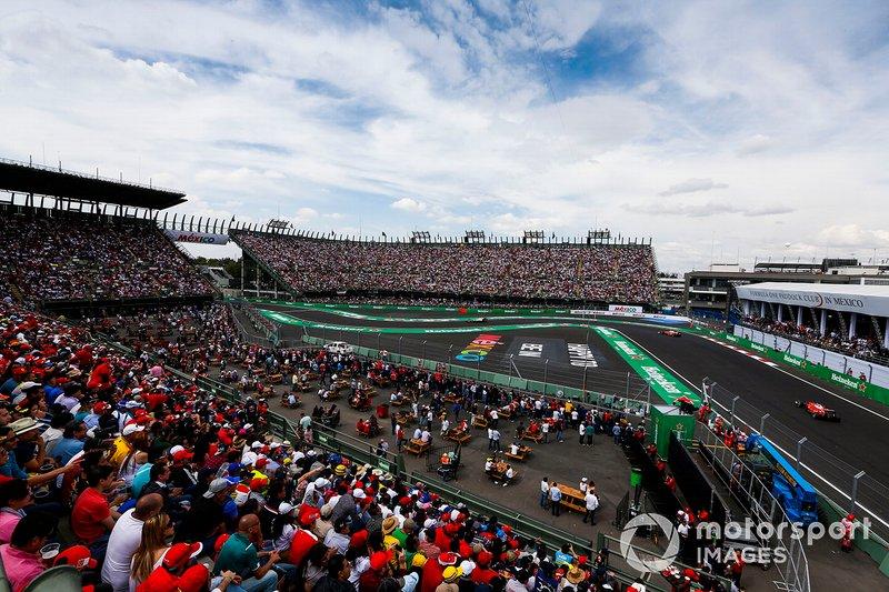 Kimi Raikkonen, Ferrari SF16-H, al GP del Messico del 2016