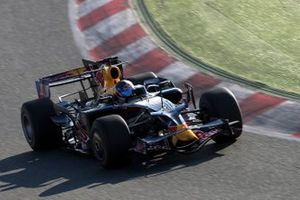 Sebastien Loeb, World Rally Champion tests for Red Bull Racing