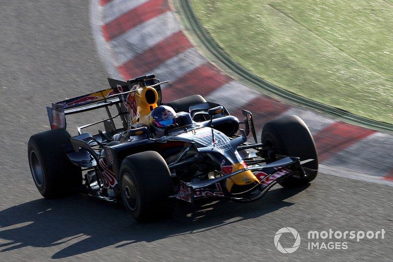 Тесты Себастьена Лёба в Red Bull Racing