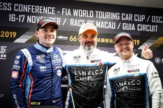 Press Conference, Yvan Muller, Cyan Racing Lynk & Co 03 TCR, Norbert Michelisz, BRC Hyundai N Squadra Corse Hyundai i30 N TCR, Andy Priaulx, Cyan Performance Lynk & Co 03 TCR