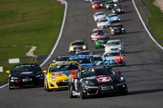 #435 Porsche Cayman S: Wolfgang Weber, Alex Fielenbach