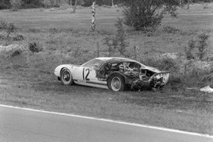 The remains of Richard Attwood, Jo Schlesser's Ford Motor Company, Ford GT40