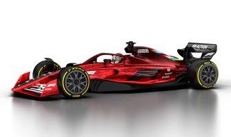 Coche F1 de 2021