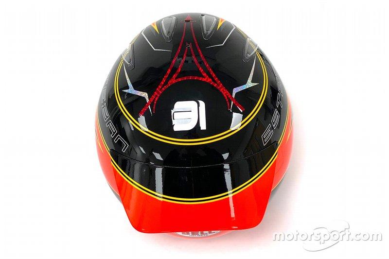 Casco della Bell di Esteban Ocon, Renault F1 Team 2020