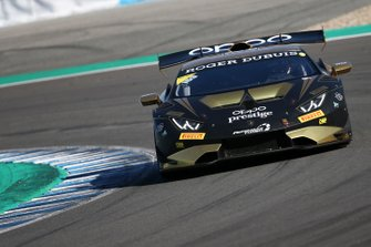#169 Huracan Super Trofeo Evo, Travis Hougen/ Wane Taylor Racing: Eric Curran, William Hubbell