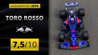 Eindrapport 2019 Toro Rosso