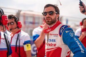 Jérôme d'Ambrosio, Mahindra Racing on the grid