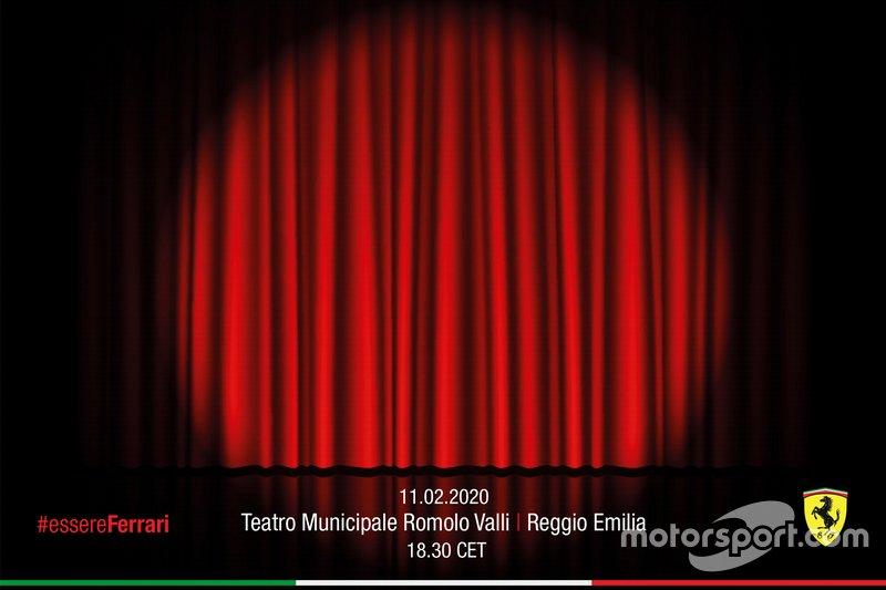 Invito alla Presentazione monoposto 2020 Scuderia Ferrari