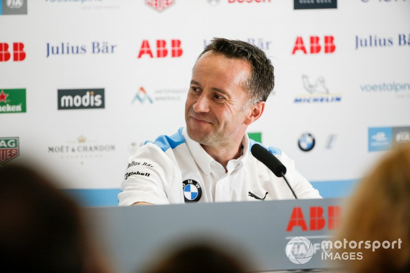 Roger Griffiths, Team Principal, BMW i Andretti Motorsport in the press conference