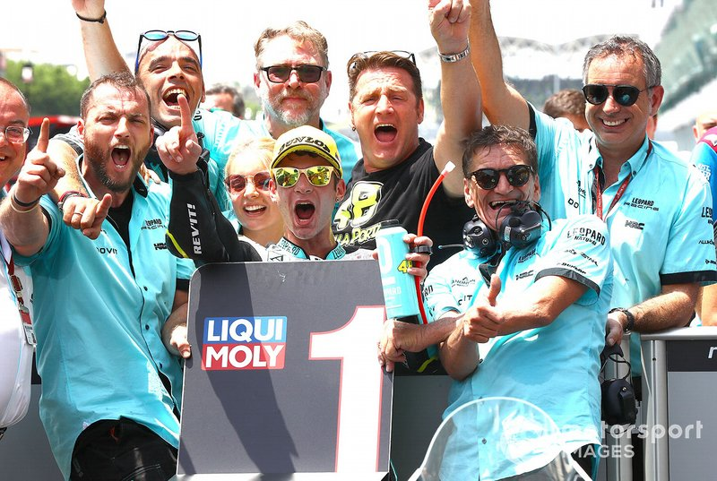 Moto3, equipes: Leopard Racing; Moto3, fabricantes: Honda