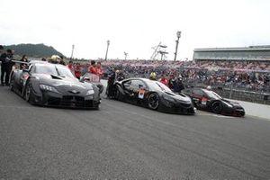 Toyota GR Supra、Honda NSX-GT、Nissan GT-R NISMO GT500(2020 GT500 Cars Demo)