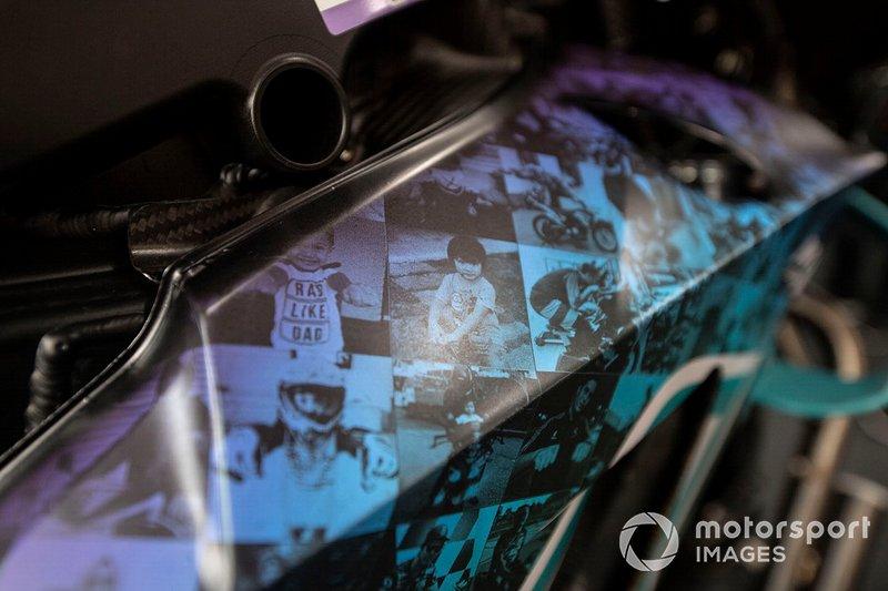 La livrea delle Yamaha Petronas SRT, per la gara di casa