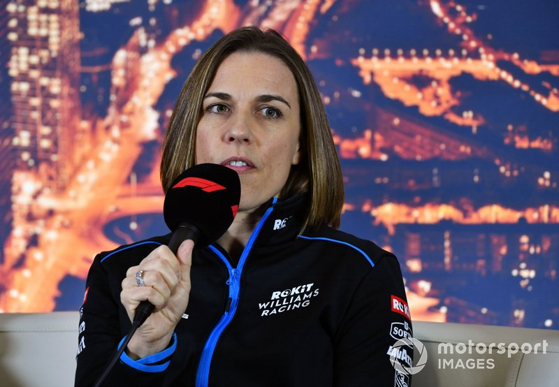 Claire Williams, chefe da equipe Williams