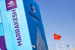Marrakesh ePrix branding