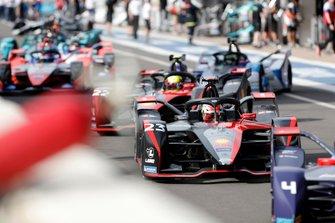 Sébastien Buemi, Nissan e.Dams, Nissan IMO2, Oliver Rowland, Nissan e.Dams, Nissan IMO2