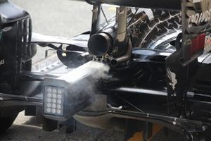 Trasera del Mercedes AMG F1 W11
