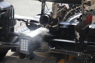 Mercedes AMG F1 W11 rear