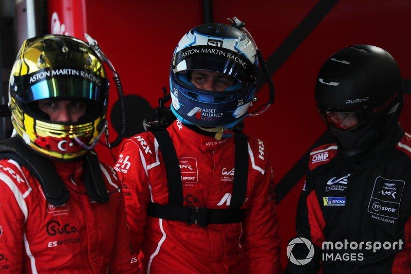 #90 TF Sport Aston Martin Vantage: Salih Yoluc, Jonathan Adam