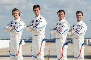 Jesse Krohn, John Edwards, Bruno Spengler, Connor De Phillippi, BMW Team RLL