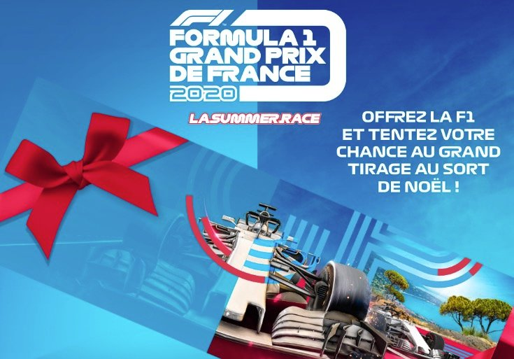 Billets Grand Prix de France F1 2020